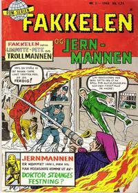 Cover Thumbnail for Fakkelen og jernmannen (Serieforlaget / Se-Bladene / Stabenfeldt, 1968 series) #2/1968