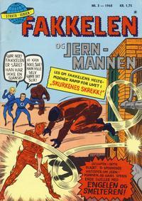 Cover Thumbnail for Fakkelen og jernmannen (Serieforlaget / Se-Bladene / Stabenfeldt, 1968 series) #3/1968