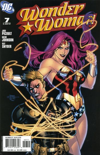 Cover for Wonder Woman (DC, 2006 series) #7