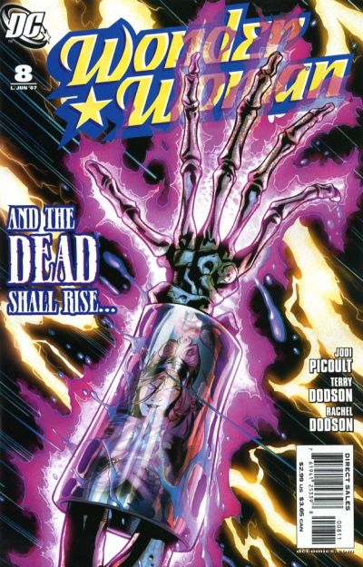 Cover for Wonder Woman (DC, 2006 series) #8