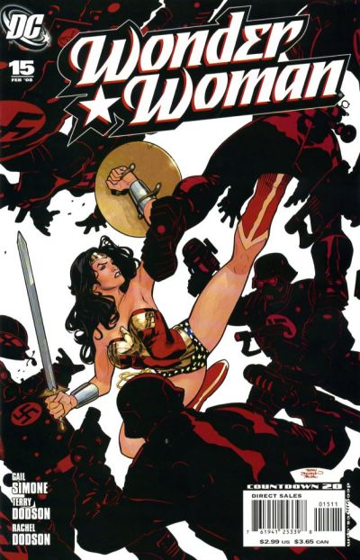 Cover for Wonder Woman (DC, 2006 series) #15