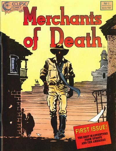 Cover for Merchants of Death (Eclipse, 1988 series) #1