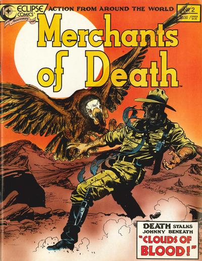 Cover for Merchants of Death (Eclipse, 1988 series) #2