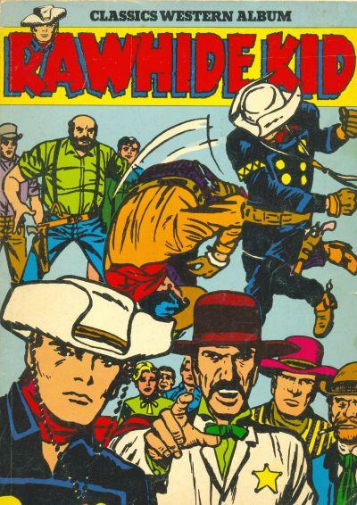 Cover for Rawhide Kid Album (Classics/Williams, 1974 series) #3