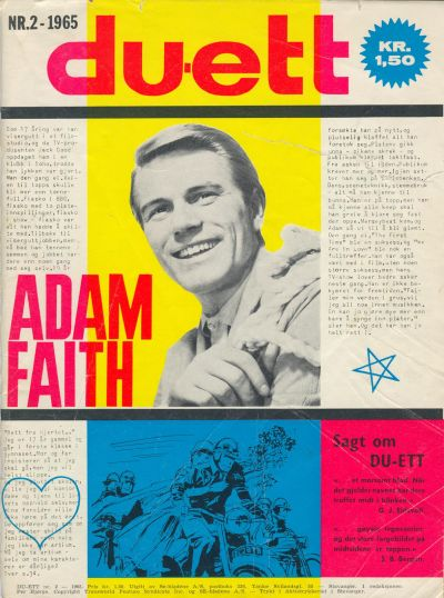 Cover for Du-ett (Serieforlaget / Se-Bladene / Stabenfeldt, 1964 series) #2/1965