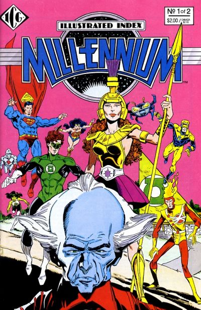 Cover for Millennium Index (Independent Comics Group, 1988 series) #1