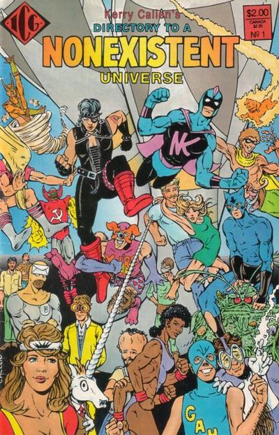 Cover for Directory to a Non-Existent Universe (Eclipse, 1987 series) #1