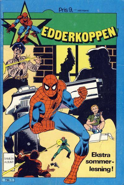 Cover for Edderkoppens ekstra sommernummer (Atlantic Forlag, 1984 series)