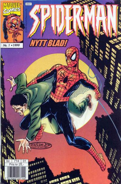 Cover for Spider-Man (Hjemmet / Egmont, 1999 series) #1/1999