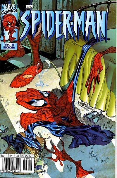 Cover for Spider-Man (Hjemmet / Egmont, 1999 series) #8/2002