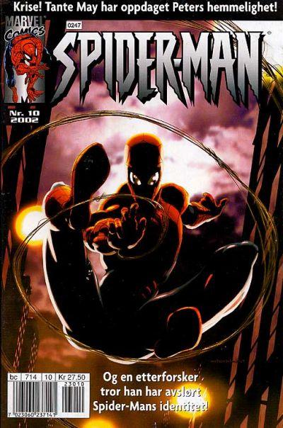 Cover for Spider-Man (Hjemmet / Egmont, 1999 series) #10/2002