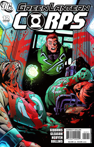 Cover for Green Lantern Corps (DC, 2006 series) #12