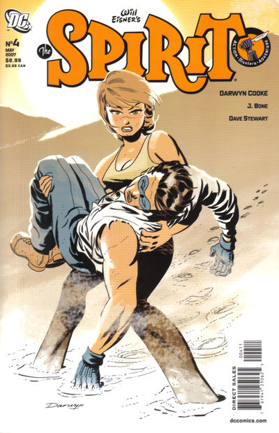 Cover for The Spirit (DC, 2007 series) #4