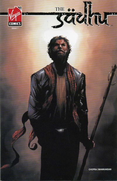 Cover for The Sadhu (Virgin, 2006 series) #7
