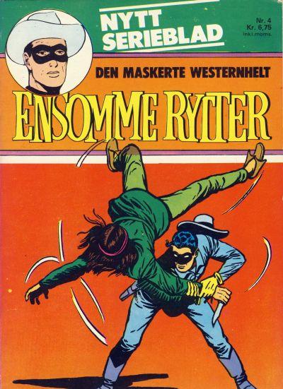 Cover for Ensomme Rytter (Hjemmet / Egmont, 1977 series) #4