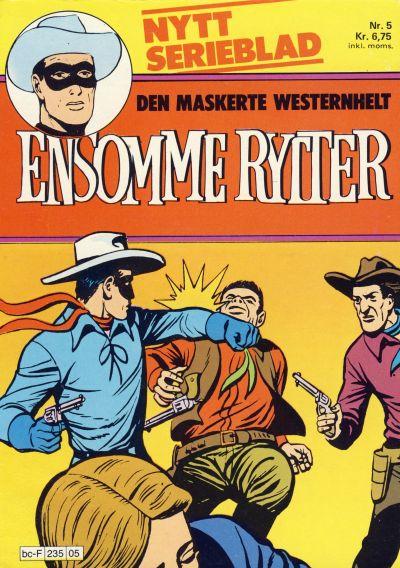Cover for Ensomme Rytter (Hjemmet / Egmont, 1977 series) #5