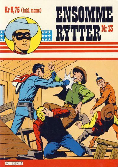 Cover for Ensomme Rytter (Hjemmet / Egmont, 1977 series) #13