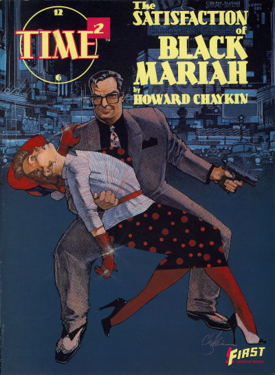 Cover for Time²: The Satisfaction of Black Mariah (First, 1987 series) #[nn]