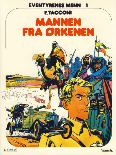 Cover for Eventyrenes menn (Semic, 1979 series) #1 - Mannen fra ørkenen