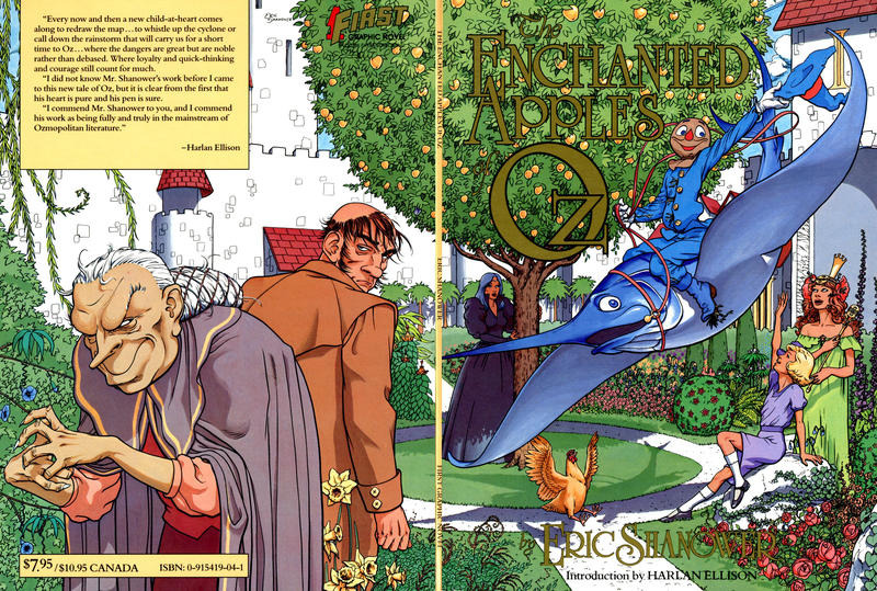 Cover for The Enchanted Apples of Oz (First Graphic Novel Number Five) (First, 1986 series)