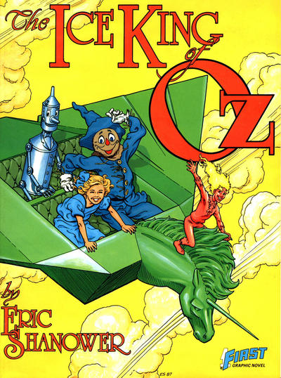 Cover for The Ice King of Oz (First, 1987 series) #[nn]
