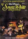 Cover for Walt Disney's Snow White and the Seven Dwarfs Golden Anniversary (Gladstone, 1987 series) #1