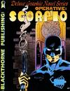 Cover for Operative: Scorpio Graphic Novel (Blackthorne, 1988 series) #1