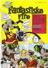 Cover for Fantastiske Fire (Serieforlaget / Se-Bladene / Stabenfeldt, 1968 series) #2/1968