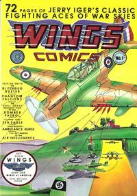 Cover Thumbnail for Jerry Igers Classic Wings Comics (Blackthorne, 1985 series) #1