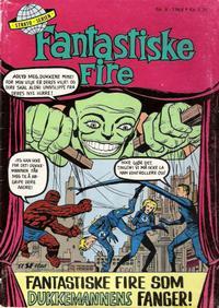 Cover Thumbnail for Fantastiske Fire (Serieforlaget / Se-Bladene / Stabenfeldt, 1968 series) #8/1968