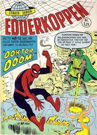 Cover Thumbnail for Edderkoppen (Serieforlaget / Se-Bladene / Stabenfeldt, 1968 series) #5/1968