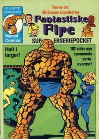 Cover Thumbnail for De Fantastiske Fire [Fantastiske Fire superseriepocket] (Atlantic Forlag, 1979 series) #1