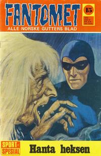 Cover Thumbnail for Fantomet (Romanforlaget, 1966 series) #15/1970