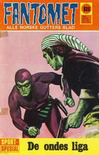 Cover Thumbnail for Fantomet (Romanforlaget, 1966 series) #18/1970