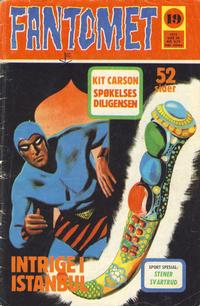 Cover Thumbnail for Fantomet (Nordisk Forlag, 1973 series) #19/1973