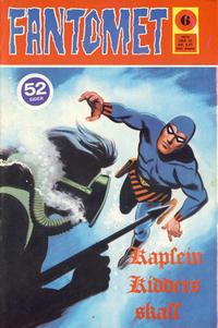 Cover Thumbnail for Fantomet (Nordisk Forlag, 1973 series) #6/1974