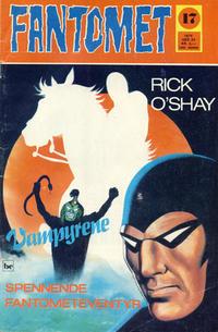 Cover Thumbnail for Fantomet (Nordisk Forlag, 1973 series) #17/1974