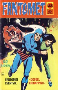 Cover Thumbnail for Fantomet (Nordisk Forlag, 1973 series) #23/1974