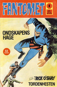 Cover Thumbnail for Fantomet (Nordisk Forlag, 1973 series) #4/1975