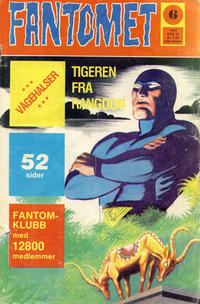 Cover Thumbnail for Fantomet (Nordisk Forlag, 1973 series) #6/1975