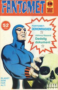 Cover Thumbnail for Fantomet (Nordisk Forlag, 1973 series) #10/1975