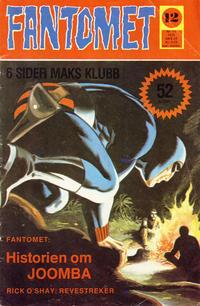 Cover Thumbnail for Fantomet (Nordisk Forlag, 1973 series) #12/1975