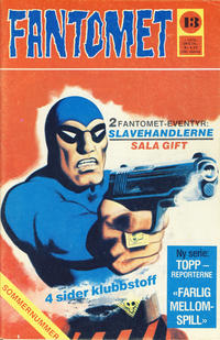 Cover for Fantomet (Nordisk Forlag, 1973 series) #13/1975