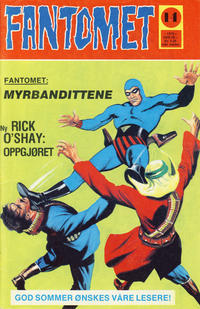 Cover Thumbnail for Fantomet (Nordisk Forlag, 1973 series) #14/1975