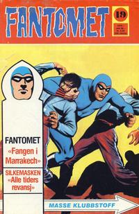 Cover Thumbnail for Fantomet (Nordisk Forlag, 1973 series) #19/1975