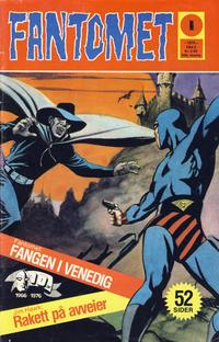 Cover Thumbnail for Fantomet (Nordisk Forlag, 1973 series) #1/1976