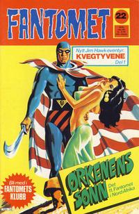 Cover Thumbnail for Fantomet (Nordisk Forlag, 1973 series) #22/1976