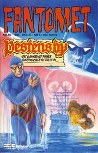 Cover for Fantomet (Semic, 1976 series) #16/1985