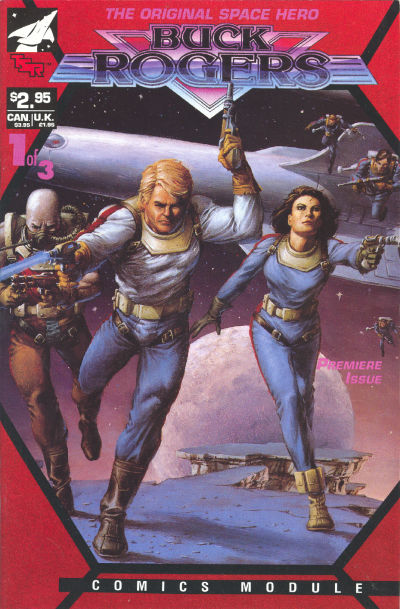 Cover for Buck Rogers Comics Module (TSR, 1990 series) #1