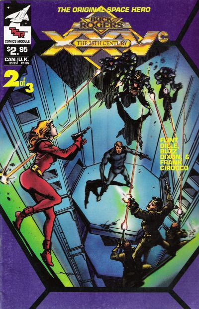 Cover for Buck Rogers Comics Module (TSR, 1990 series) #2
